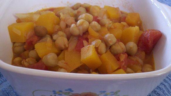 Butternut Garbanzo Stew